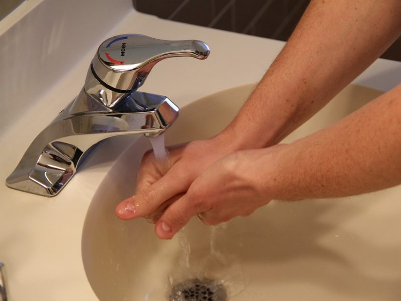 Effective hand washing for care home staff